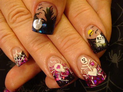 Halloween Nail Art Class