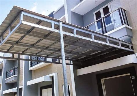 23 model kanopi terbaru baja ringan rumah minimalis 2018