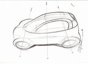 Simple rules to draw a car sketch in top view – www