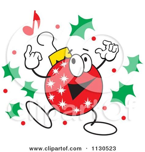 cartoon character christmas ornaments characters clipart