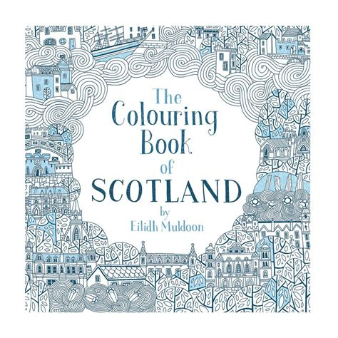 colouring book  scotland  adults  children hes