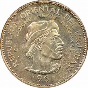 Uruguay 10 Pesos KM 43 Prices & Values | NGC