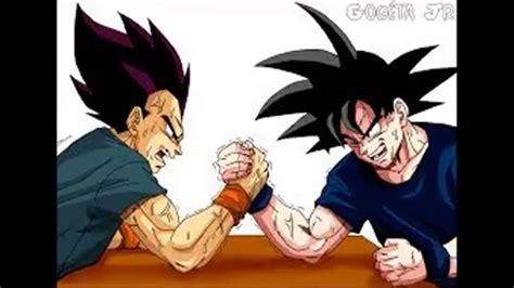 Dublando Duelo De Titãs Goku Vs Vegeta 7 Minutoz Essa é
