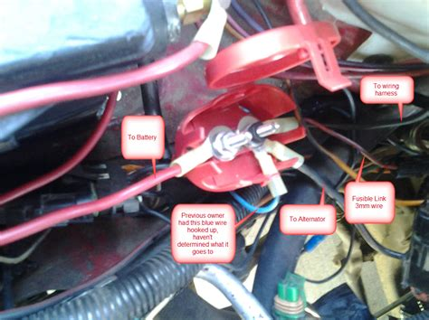 fusible link replacement  generation  body message