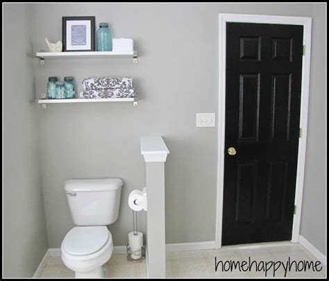 neutral bathroom colors behr bathroom makeover paint color graceful gray by behr
