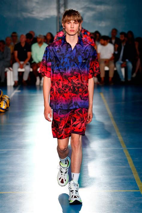 MSGM men spring-summer 2019 fashion show