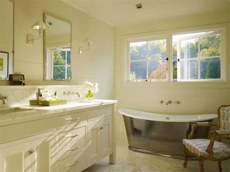 Bathtub Backsplash : Double Bathroom Vanity With Backsplash Shelf