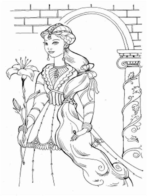 realistic princess coloring pages  getcoloringscom  printable colorings pages  print