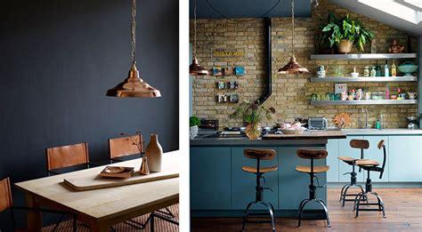 cuisine d 1 jour la fabrique à déco cuivre et bleu couleurs et matières