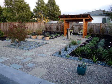 Midcentury Modern Minimalist Landscape Design