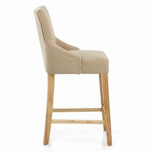 Chaise Bar Bois : chaise de bar bois tissu magna monde du tabouret ~ Teatrodelosmanantiales.com Idées de Décoration