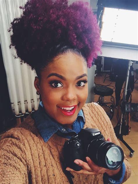 Best 25 Dyed Natural Hair Ideas On Pinterest Black