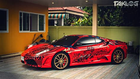 ferrari f430 custom ferrari f430 by hugsticker custom youtube