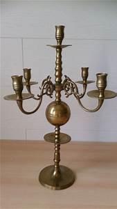 5 Armiger Kerzenleuchter : metallobjekte messing gefertigt nach 1945 leuchter kandelaber antiquit ten ~ Frokenaadalensverden.com Haus und Dekorationen