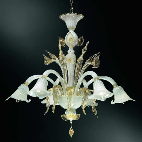 Chandeliers Glass by Aquatico Chandelier Italian Glass Chandelier