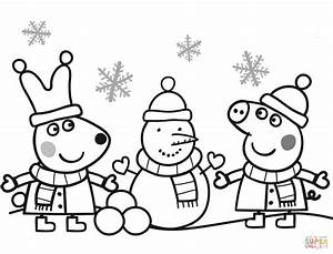 Snowman Coloring Pages Free Printable Free Coloring Library