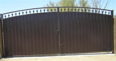 solid metal driveway gates google search gates