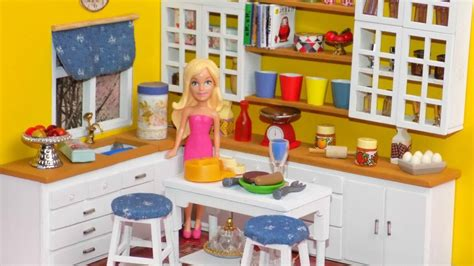 Diy Miniature Dollhouse Kitchen  Youtube