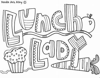 Classroom Coloring Pages Doodles Appreciation Community Doodle