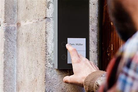 doorline slim dect tuersprechanlage fuer telefon und smartphone