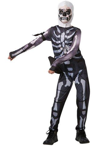 fortnite skull trooper child teen costume party delights