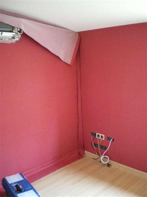 tenture plafond chambre tenture murale et tissu tendu deux types de pose dossier