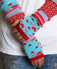 Arm Warmers From Socks