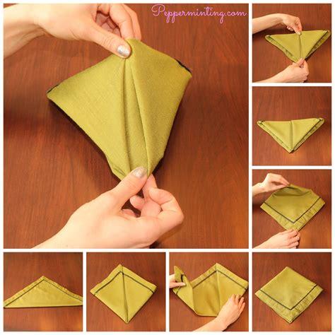 Napkin Folding Step by Step