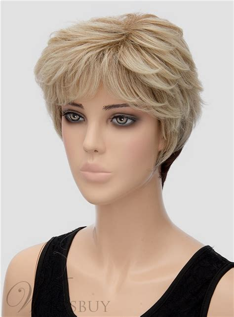 at home hair styles unique fluffy wavy capless synthetic hair wig 8 3370