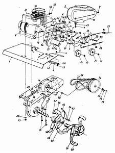 Craftsman 5 Hp Tiller Engine Parts