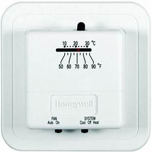 Economy Heat  Cool Manual Thermostat-ct31a