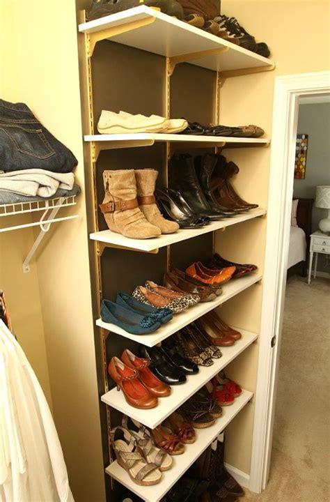 clever  easy ways  organize  shoes diy crafts