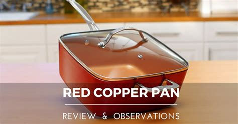 red copper pan reviews cooknovelcom