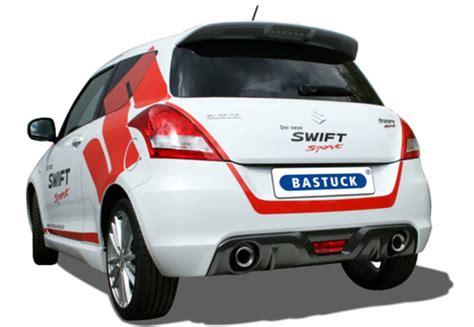 Bastuck  Sportauspuffanlage  Suzuki Swift Nz Sport