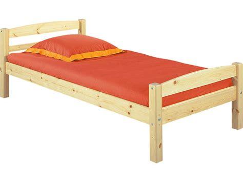 chambre en pin massif pas cher lit 90 x 200 cm harry 5 coloris naturel vente de lit