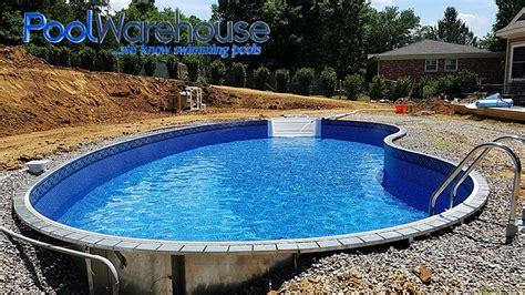 2017 Inground Swimming Pool Kit Construction Photos Pool