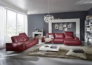 Canape Angle Rouge : comment coordonner la couleur de votre canape avec le reste du mobilier de salon blog de ~ Teatrodelosmanantiales.com Idées de Décoration
