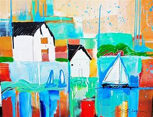 Paintings For Sale Sailboats, Beach Houses and Abstract