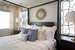 Vibrant Transitional Master Bedroom Robeson Design