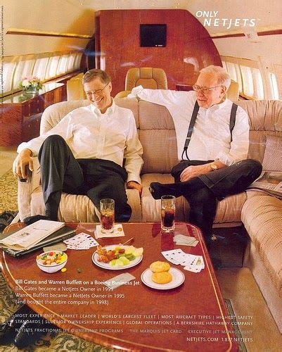 bill gates  warren buffet  private jet finance