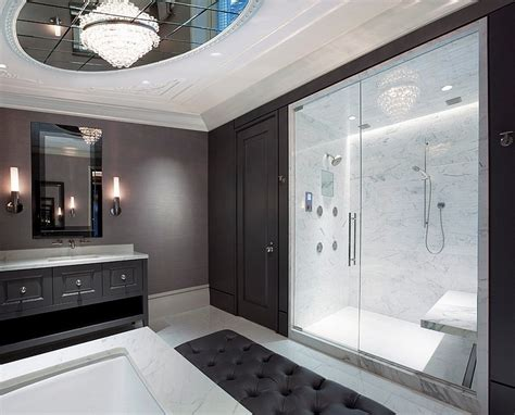 20 Fabulous Black White Gray Bathroom Design (with Pictures