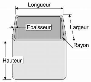 L Longueur Ou Largeur : calculer la section les surfaces et les volumes du tube carr ou rectangulaire ~ Medecine-chirurgie-esthetiques.com Avis de Voitures