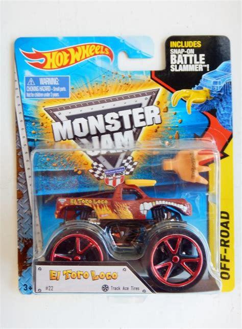 diecast monster jam trucks el toro loco monster jam diecast truck wheels 2015