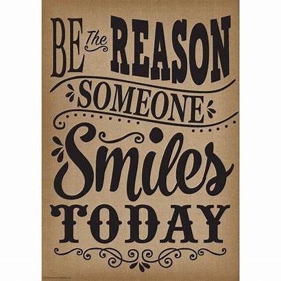 Reason Smiles Someone Today Positive Poster Kindness