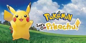 Pokmon Let39s Go Pikachu Nintendo Switch Games