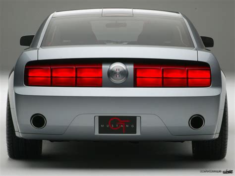 Image Gallery 2001 Mustang Concept