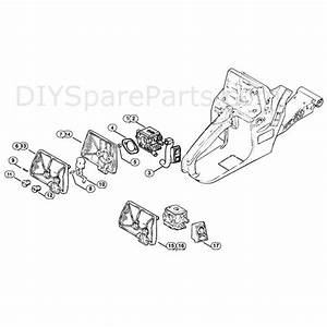 Stihl 038 Chainsaw  038  Parts Diagram  Air Filter