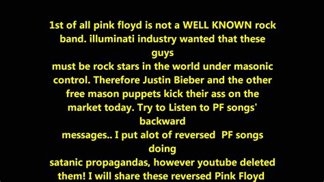 pink floyd illuminati pink floyd illuminati satanic messages exposed