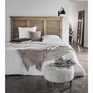 Tete De Lit Maison Du Monde : t te de lit 140 en manguier l 160 cm persiennes maisons ~ Melissatoandfro.com Idées de Décoration