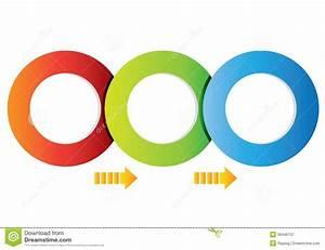 Circle Diagram Stock Illustration  Illustration Of Workflow